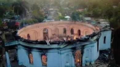 Photo de Incendie de la chapelle de Milot: l'ISPAN évalue les dégâts