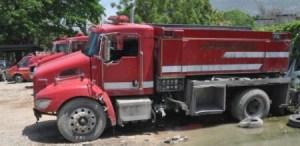 Attaque contre un camion de sapeurs pompiers à Port-au-Prince, un mort et plusieurs blessés 1