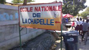 Enseignants et personnels de soutien menacent de boycotter la réouverture des classes à La Chapelle (Artibonite) 1