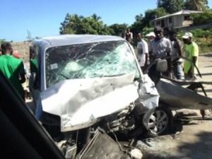 Circulation : au moins 3 morts dans un accident à Léogane (Ouest) 1