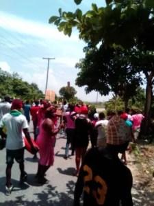 Petite-Rivière de l'Artibonite : les habitants ont manifesté contre l'insécurité 1