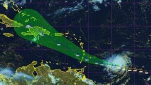 La tempête tropicale Dorian se renforce et menace des îles de la Caraïbe 1