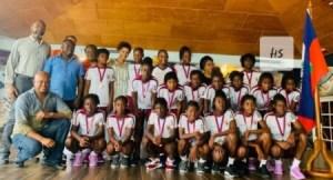 Yves Léonard salue la performance de la sélection nationale féminine des moins de 14 ans sur fond de critique 1