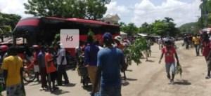 Miragoâne : protestation pour dénoncer la rareté de carburant 1