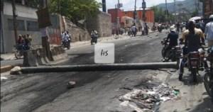 Tension sur la route de Delmas, à hauteur de Delmas 60 1