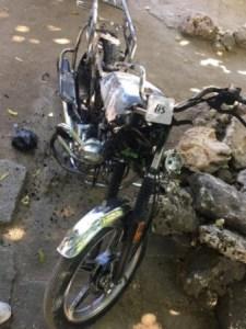 Nippes : opération policière à Chalon, 3 motocyclettes incendiées 1