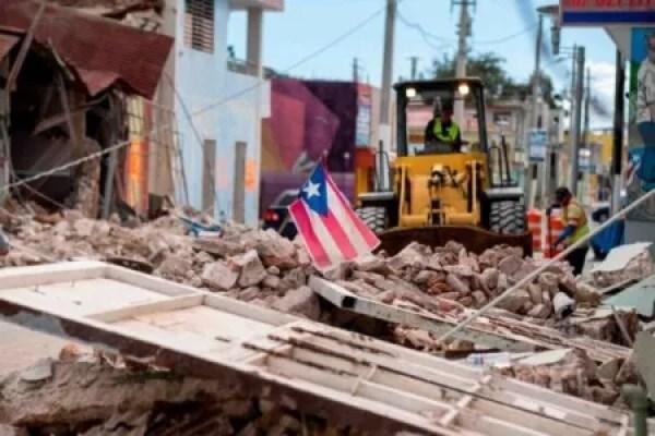 """Porto-Rico secoué à nouveau par un """"tremblement de terre"""" de magnitude 5.9 1"""