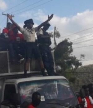 Interdiction de départ contre la présidente du syndicat de la Police nationale d'Haïti