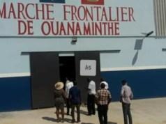 Le marché transfrontalier de Ouanaminthe improvisé centre de quarantaine par le MSPP