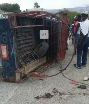 Un mort sur le champ et plusieurs blessés dans un accident survenu à Saut-d'Eau
