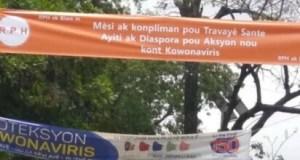 Coronavirus : le Rassemblement des patriotes haïtiens (RPH) salue le travail des travailleurs de santé