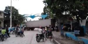 Hinche (Centre) : l'entrée principale de la ville bloquée
