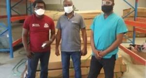 Coronavirus : distribution de matériels destinés à renforcer le système sanitaire dans le département du Centre