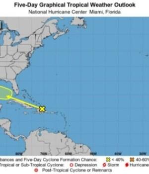 Météo : localisation d'une onde tropicale près de la République Dominicaine
