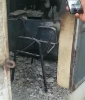 Incendie à la Mairie de Petit-Goâve après la nomination de Junior Bonheur comme agent exécutif intérimaire