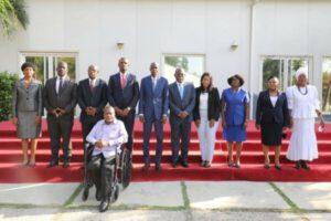 Installation des membres du CEP, le Président Jovenel Moïse poursuit son passage en force