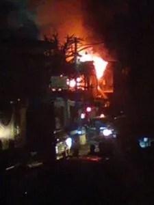 Port-au-Prince : incendie d'Evasion bar restaurant par des individus armés