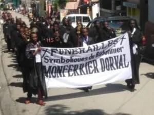 Nippes : des funérailles symboliques pour Me Monferieur Dorval à Miragoâne