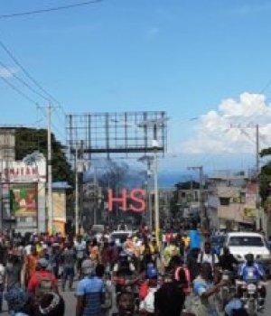 Port-au-Prince : au moins 2 personnes blessées, la manif de l'opposition dispersée à Delmas 69