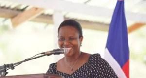 Commémoration de la journée internationale des femmes rurales par la Première Dame Martine Moïse