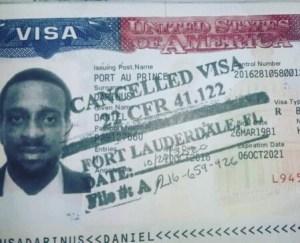 """Révocation du visa américain du rappeur haïtien dénommé """"Fantom"""""""