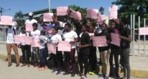 Miragoâne (Nippes) : des étudiants et professeurs disent non à l'insécurité en Haïti
