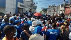 Port-au-Prince : des milliers de chrétiens catholiques dans les rues pour célébrer  l'Immaculée conception