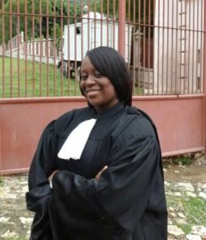 Me Carla Vévé : première femme Docteur en droit au Barreau du Cap-Haïtien