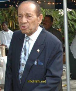 Décès de Me Gérard Gourgue, le Président Jovenel Moïse présente ses sympathies à la famille éplorée