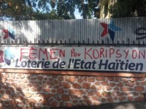 La Loterie de l'État haïtien fermée par les employés pour corruption