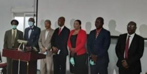 Port-au-Prince : investiture des membres de la commission de restructuration de l'École de droit des Gonaïves