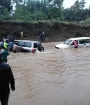 Nord'Ouest : le Président Jovenel Moïse victime d'innondations à Jean-Rabel, le Palais national dément