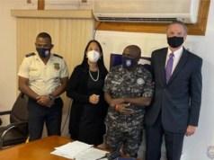 Dénoncé par la clameur publique dans l'assassinat du Président, le DG de la police a rencontré des représentants américains