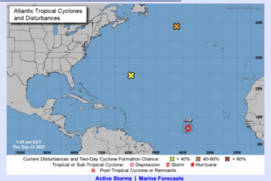 Haïti - Saison cyclonique : naissance de la tempête tropicale Sam dans la Caraïbe