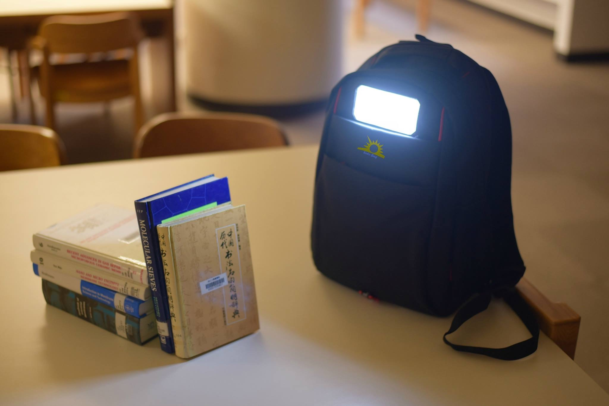 Haitian Student In Taiwan Invents Solar Powered Backpack For