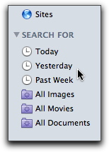 Finder Sidebar