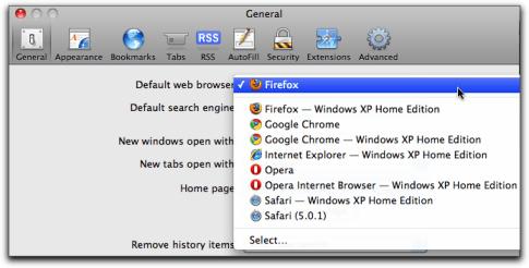 Set Default Browser