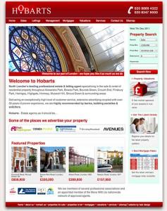 Hobarts 2011 website