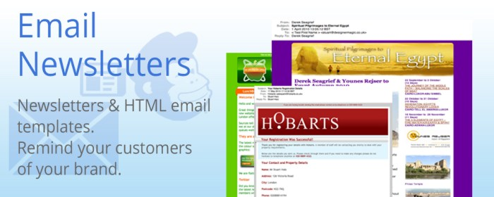 email and newsletter templates