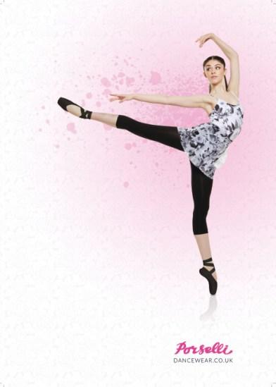 porselli dancewear spring ad