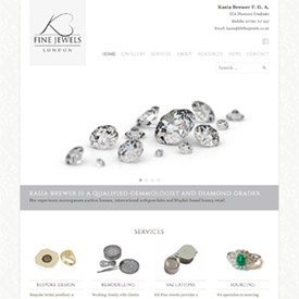 KB Jewels Website
