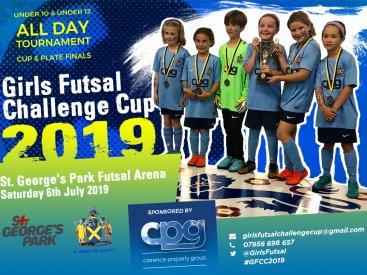 Futsal Challenge Flyer 2019