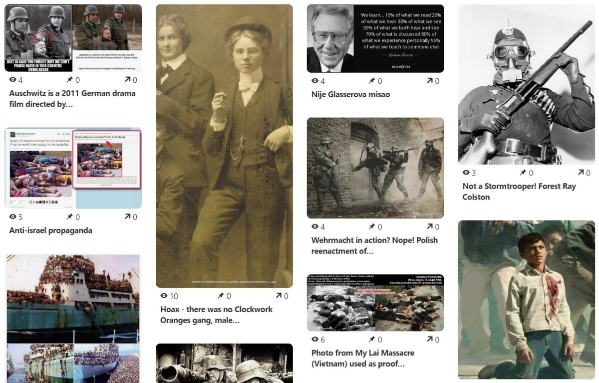 Postaje li kombinacija Interneta i fotografije neprijatelj povijesti?