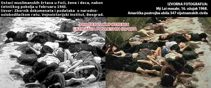 Navodna fotografija četničkog pokolja?