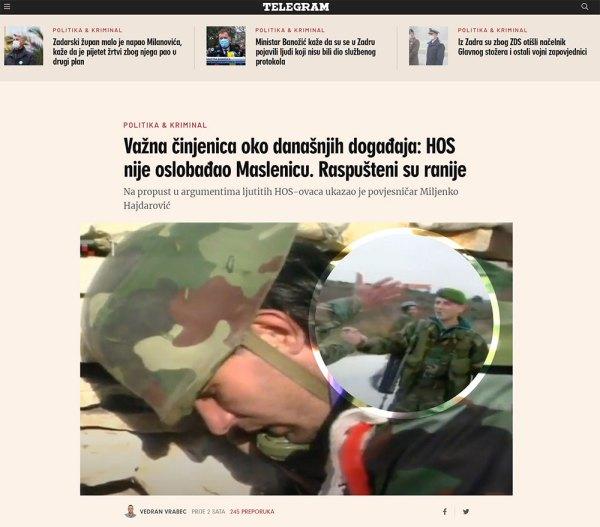 Screenshot telegram.hr