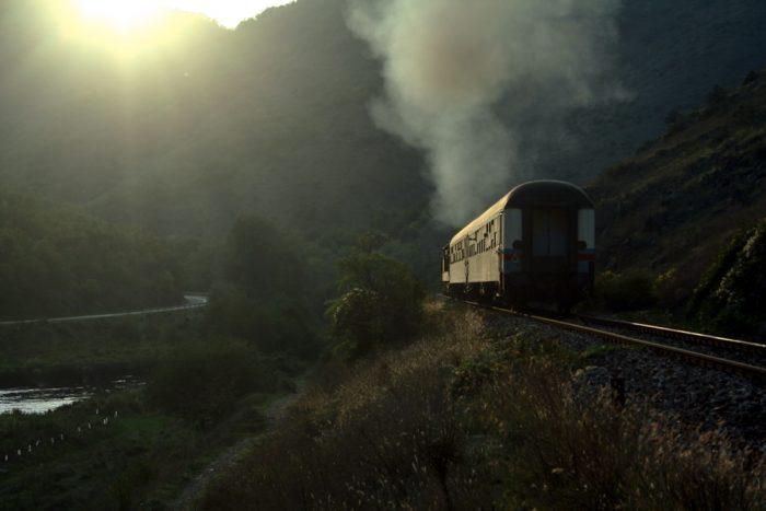 train belgrade zvecan mitrovica serbia kosovo
