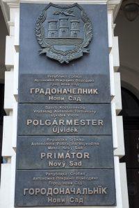 novi sad mairie multilingue