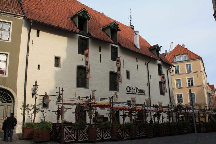olde hansa restaurant tallinn estonie