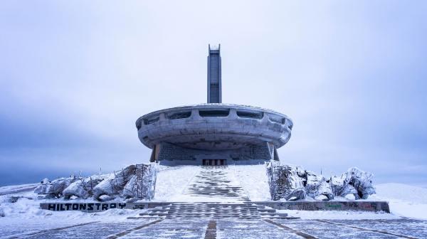 Buzludzha, le monument communiste abandonné en Bulgarie