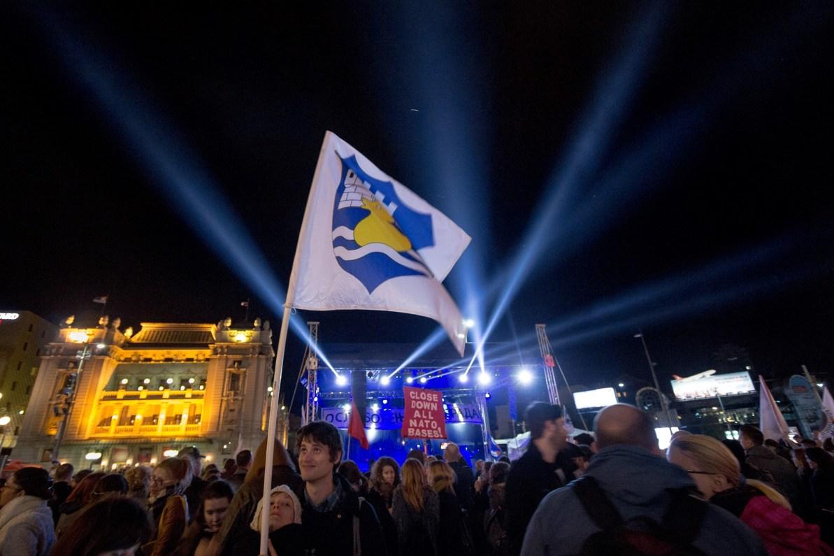 belgrade waterfront manifestations serbie 06